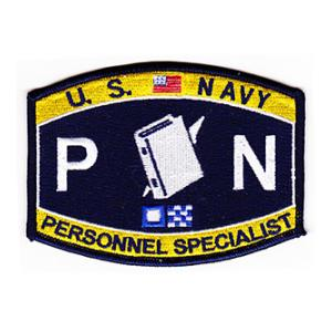 USN RATE PN Personnel Specialist Patch