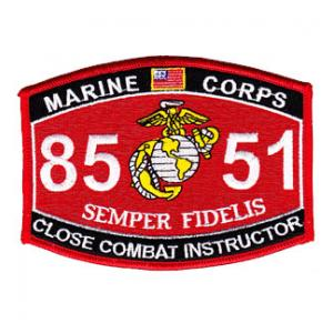 USMC MOS 8551 Close Combat Instructor Patch