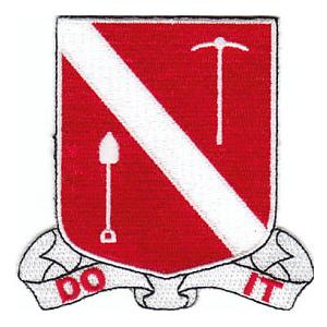 383rd Engineer Battalion Patch