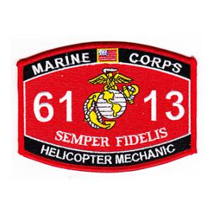 USMC MOS 6113 Helicopter Mechanic Patch