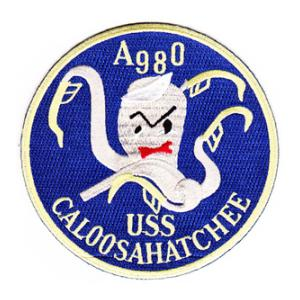 USS Caloosahatchee AO-98 Ship Patch