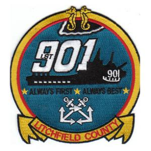 USS Litchfield County LST-901 Ship Patch