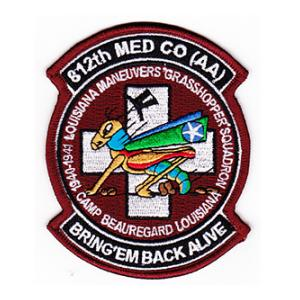 812th Medical Company AA Patch