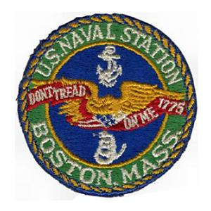Naval Station Boston, Mass. Patch