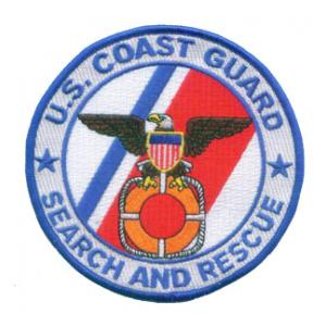 U.S. Coast Guard Search and Rescue Patch