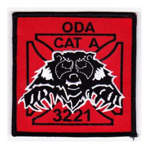 Special Forces ODA-3221 Patch (Velcro Backed)