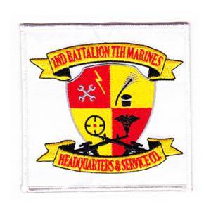 2nd Battalion / 7th Marine Patch