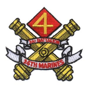 3rd Battalion / 14th Marines Patch