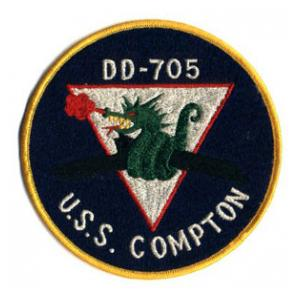 Version A DD-705 USS Compton Patch