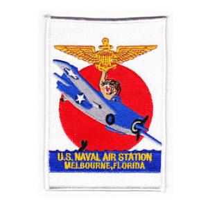 Naval Air Station Melbourne Florida Patch