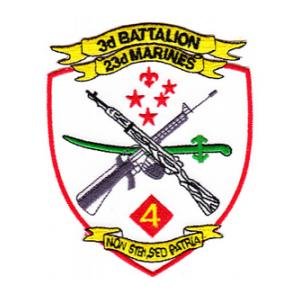 3rd Battalion / 23rd Marines Patch