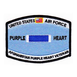Air Force Purple Heart Afghanistan Patch