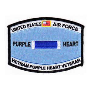 Air Force Purple Heart Vietnam Patch
