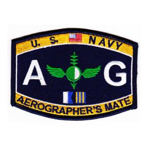 USN RATE AG Aerographer's Mate Patch