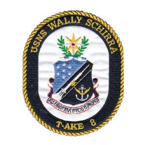 USNS Wally Schirra T-AKE-8 Patch