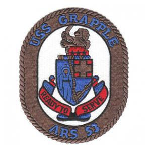 USS Grapple ARS-53 Patch