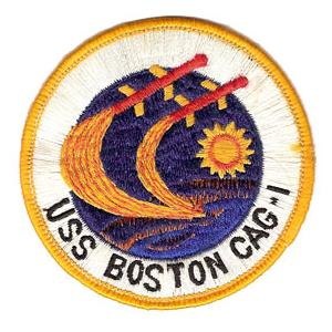 Navy Carrier Air Group Patch USS Boston CAG-1 Patch