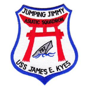 USS James Kyes DD-787 Ship Patch