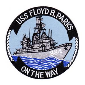 USS Barry DDG-52 Ship Patch