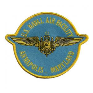 Naval Air Facility Annapolis Maryland Patch
