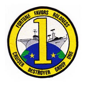 Cruiser Destroyer Squadron CRUDESRON 1 Patch