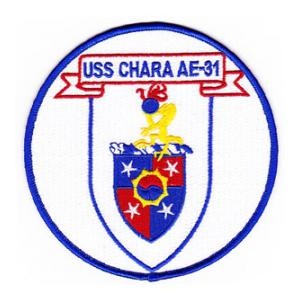 USS Chara AE-31 Ship Patch