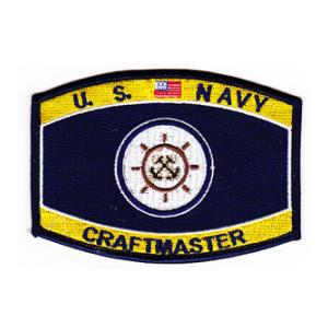 USN RATE Craftmaster Patch