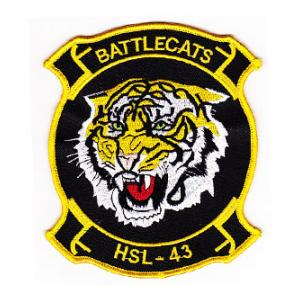 Navy Helicopter Anti-Submarine Squadron HSL-43 Patch