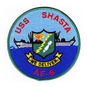 USS Shasta AE-6 Ship Patch