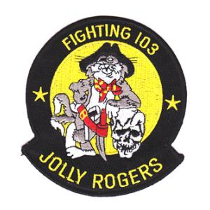Navy Fighter Squadron VF-103 Patch