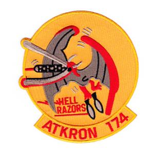 Navy All Weather Attack Squadron Patch VA-174