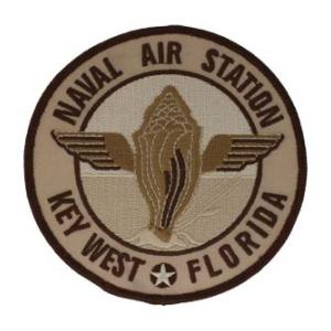 Naval Air Station Key West Patch (Tan)