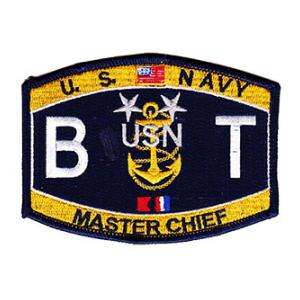 USN RATE BT Boiler Technician Master Chief Patch