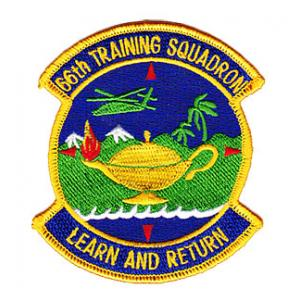 "66th Training Squadron S.E.R.E School Militaryt ""Learn and Return"" Patch"