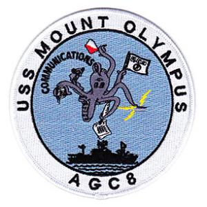 USS Mount Olympus AGC-8 Patch