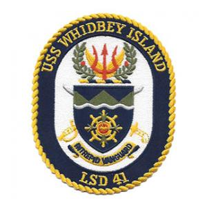 USS Whidbey Island LSD-41 Ship Pztch