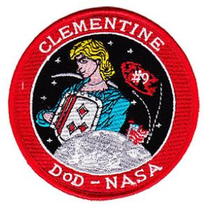 USAF Clementine DOD-NASA Classified Satellite Mission Launch Patch