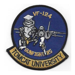 Navy Fighter Squadron VF-124 Patch