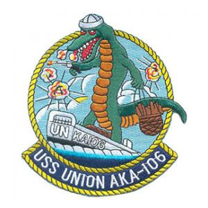 USS Union AKA-106 Ship Patch
