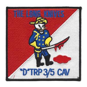 Company D Troop 3 5th Cavalry