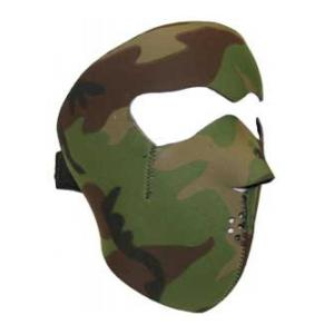 Neoprene Face Mask (Woodland Camo)