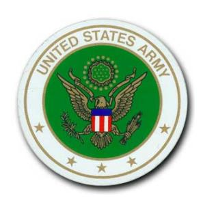 United States Army Bumper Sticker (Circular)