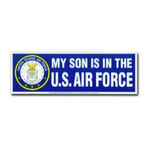 My Son is in the U.S. Air Force Bumper Sticker