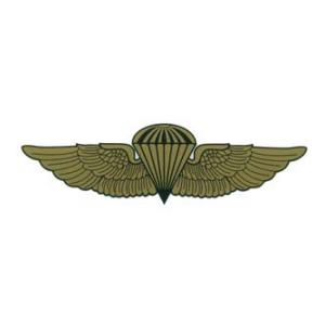 Marine/Navy Jump Wings Detail Outside Window Decal