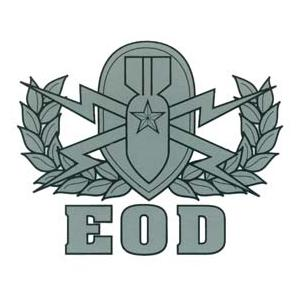EOD (All Services) Outside Window Decal