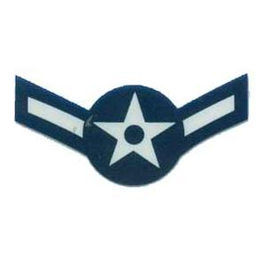 US Air Force E-2 Airman Outside Window Decal