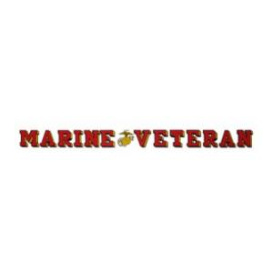 Marine Veteran Outside Decal