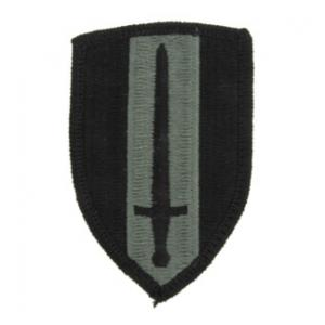 USA Vietnam Patch Foliage Green (Velcro Backed)