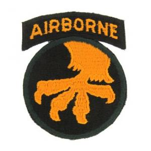 17th Airborne Division Patch