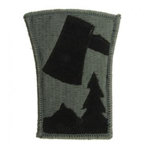 70th Infantry Division Patch Foliage Green (Velcro Backed)